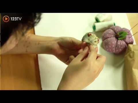 Hướng Dẫn Làm Dây Buộc Tóc Đính Hoa Bằng Vải -  iMade  -123TV