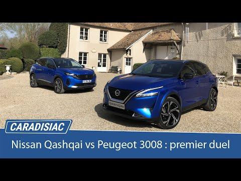 Comparatif - Nissan Qashqai vs Peugeot 3008 : les premiers de la Classe