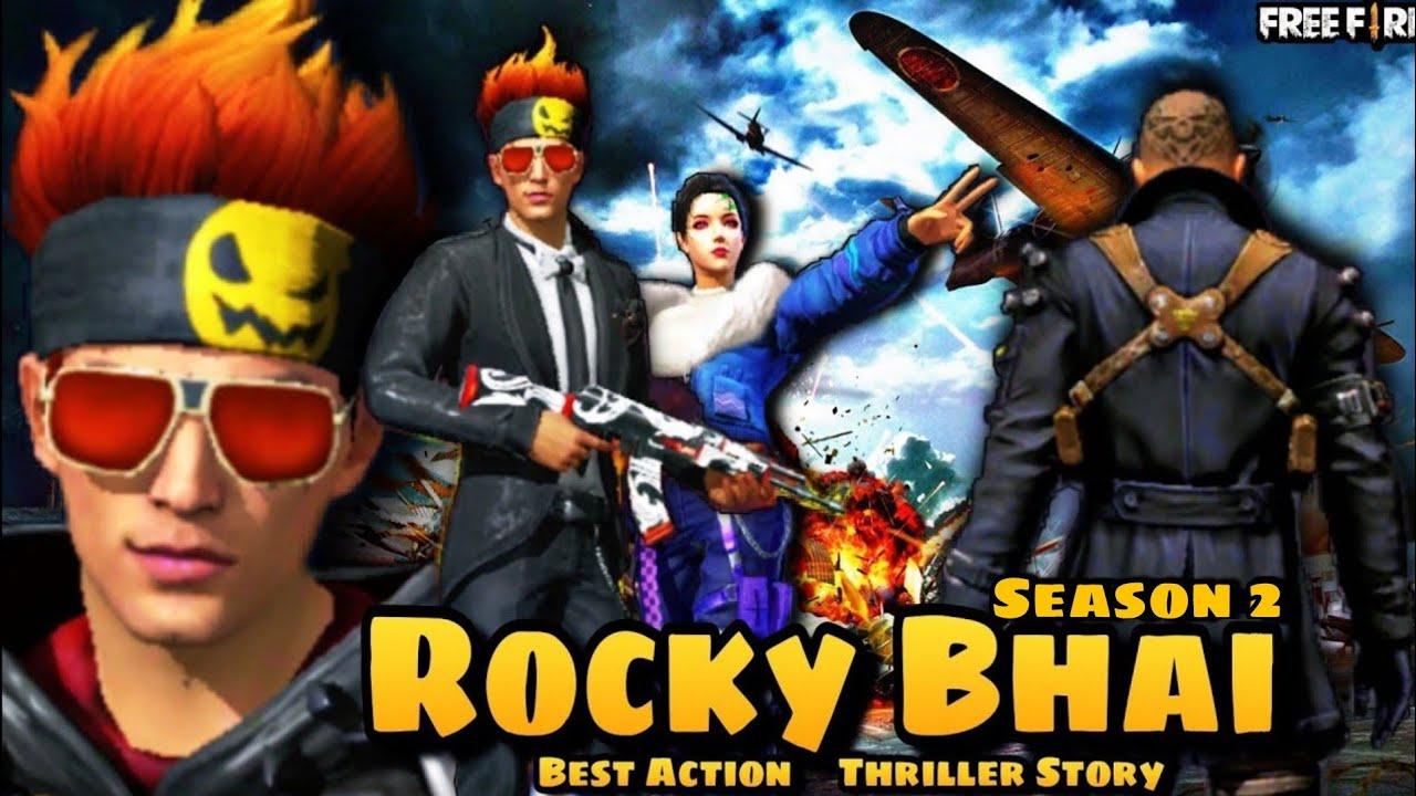 ROCKY BHAI || KGF || SEASON - 2 || FREE FIRE SHORT ACTION STORY || SALAAM ROCKY BHAI ! ACTION MOVIE