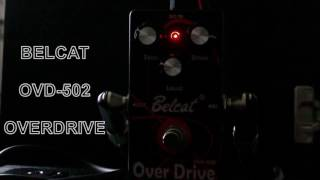 Belcat ODV-502 Overdrive / Distortion Guitar Effect Pedal
