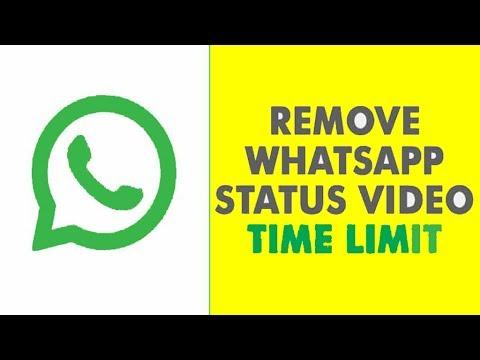Increase Whatsapp Status Time Limit 2019