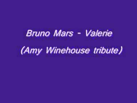 Bruno Mars-Valerie (Amy Winehouse tribute)