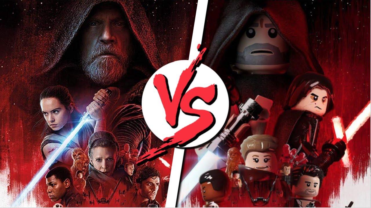 Poster Star Wars L Lego Vs Original Youtube