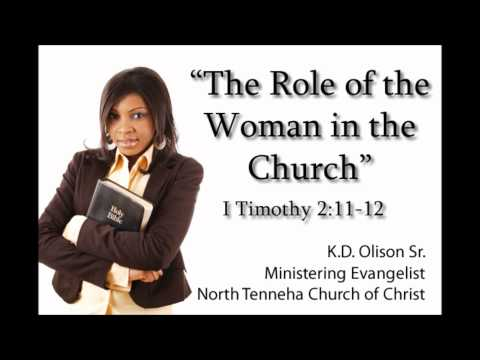 The Role of the Woman in the church
