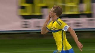 Höjdpunkter: Sveriges U21 tog sig till EM-playoff efter dramatisk match mot Turkiet - TV4 Sport