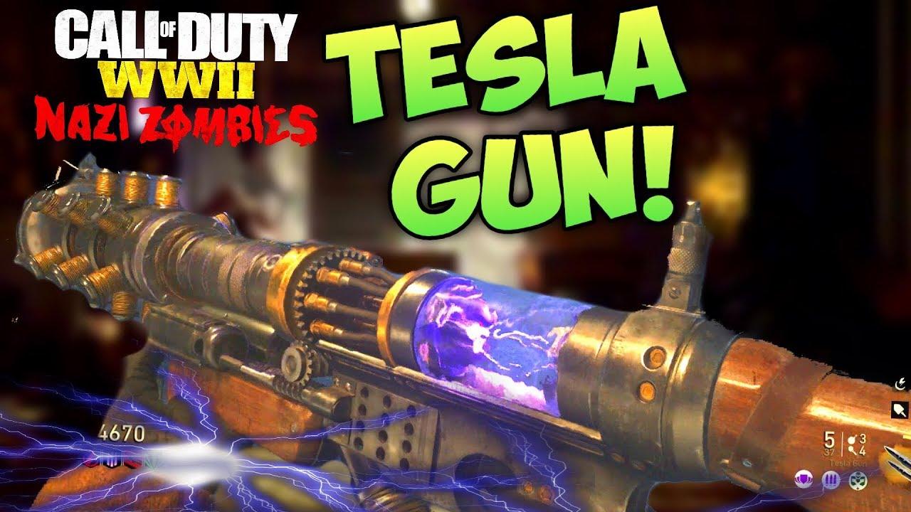 TESLA GUN EASY GUIDE! - The Final Reich Wonder Weapon Tutorial - WW2 Zombies