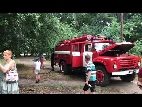 РИА Мелитополь: В Мелитополе тушат пожар в парке