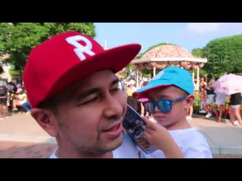 JANJI SUCI - Seru! Rafathar Seneng Banget Keliling Disney Land! (20/5/18) Part 1