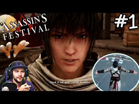 Final Fantasy Peasant Plays Assassin's Festival DLC | (PS4 gameplay) Live Commentary