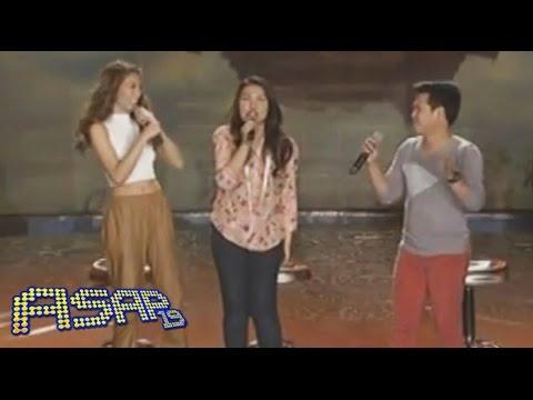 Alex Gonzaga belts 'Loving You' with Lani & Marcelito