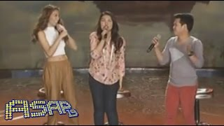 Alex Gonzaga belts 'Loving You' with Lani & Marcelito