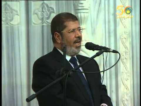 Egypt's Mursi speech to the Sudanese people in Khartoum كلمة الرئيس المصري في الخرطوم
