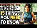 SHADOW OF THE TOMB RAIDER - 15 HUGE Things You Should Know Before You BUY (PS4 X1 PC)