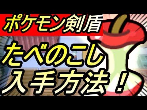 剣 盾 のこし たべ 【ポケモン剣盾】たべのこしの入手方法&効果【ポケモンソードシールド】