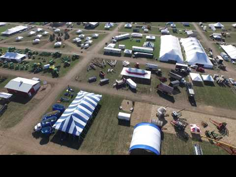 Wisconsin Farm Technology Days 2015 Fly Over With A DMZ Aerial Drone