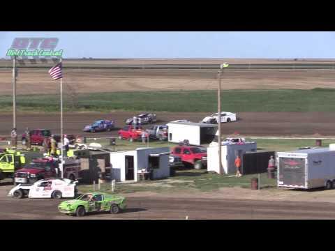 IMCA Sport Mod Heats Wakeeney Speedway 7 27 14