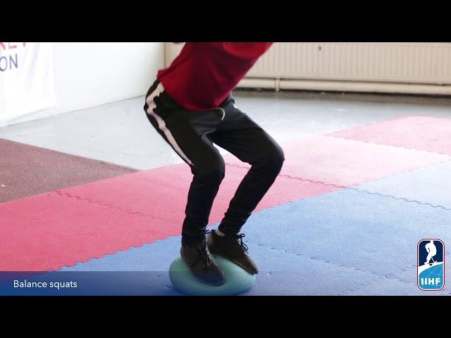 Balance squat