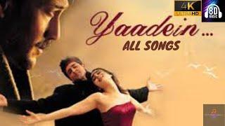 Yaadein - All songs| Hrithik Roshan, Kareena Kapoor, Anu Malik