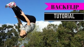 How To Do a Back Flip!