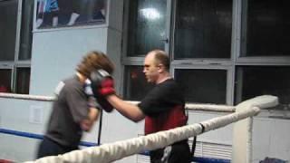 Бокс. лапы. индивидуальная тренировка.     2     ( Конкин И.)   FIGHTME.RU