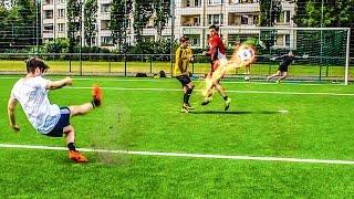 SCHWIERIGSTE FREISTOß FUßBALL CHALLENGE + BESTRAFUNGEN !