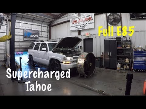 LSA Supercharged Tahoe Hits The Dyno