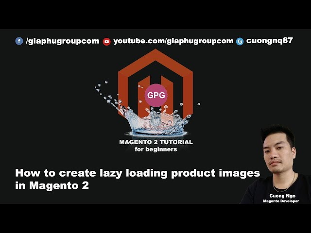 How to create lazy loading product images in Magento 2