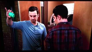 Nick teaches Schmidt and Winston