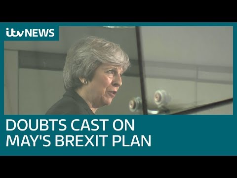 Brussels pours cold water on Theresa May's Brexit plans | ITV News