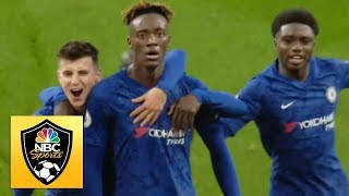 Tammy Abraham wins it late for Chelsea against Arsenal  Premier League  NBC Sports