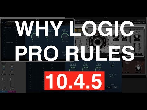 Logic Pro 10.4.5 - Why This Update Rules (And the Top Features I'm Stoked For)