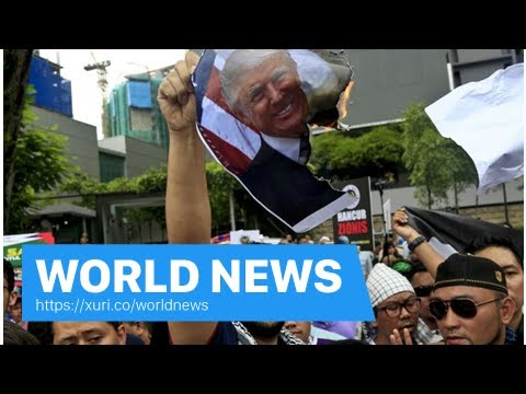 World News - South Africa's protest to the U.S. Embassy on the Trump