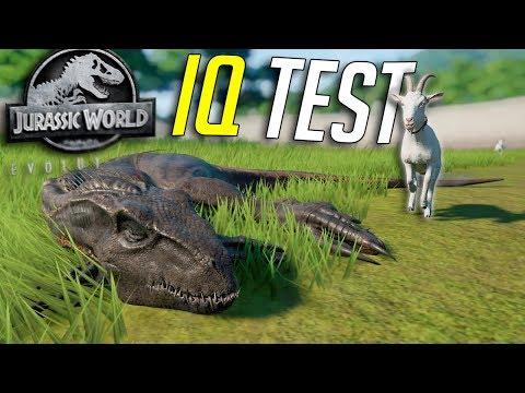 How Smart Is The INDORAPTOR? | Jurassic World - Evolution