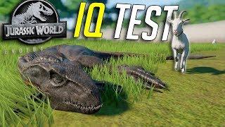 How Smart Is The INDORAPTOR?   Jurassic World - Evolution