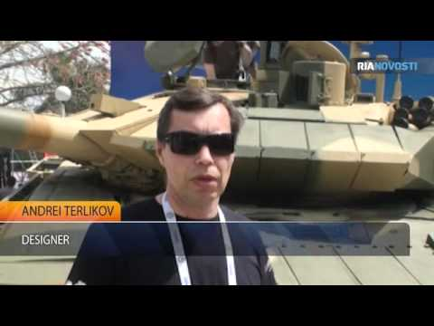 New Russian main battle tank T-90S T-90MS DefExpo 2012 defence exhibition India RIA Novosti