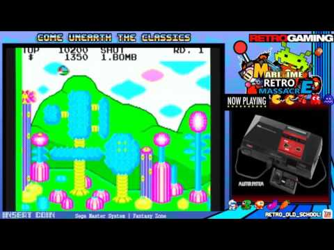Fantasy Zone on Sega Master System until twitch breaks again w/ MaritimeRetroMassacre