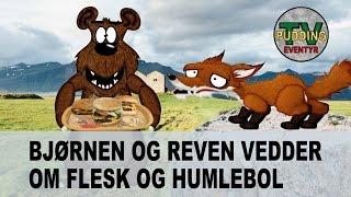 Bjørnen og reven vedder om flesk og humlebol - Norske folkeeventyr