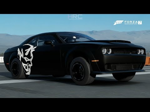 Forza 7 | Pre-Meet Builds Pt.26 | 1100HP Dodge Demon - 9 Second 1/4 Mile, 230+mph Top Speed & More