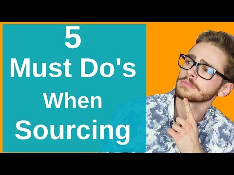 5 MUST DO's When Sourcing Books For Amazon FBA Book Selling