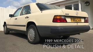 Retro Detail: Detailing the DIRTIEST car EVER! Dead Paint and years of grime.