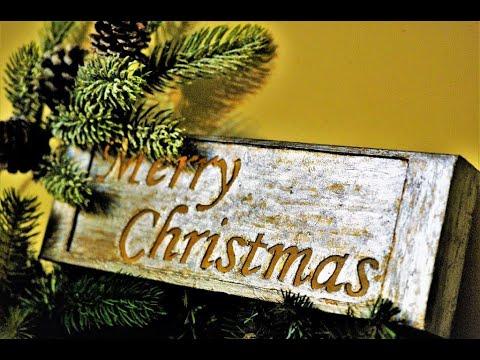 "DIY light box ""Merry Christmas"" sign"