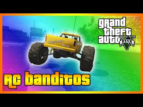 SIDEARMS SAVES THE DAY....JUST NOT FOR ME!!! (NEW GTA 5 RC BANDITO RACES)