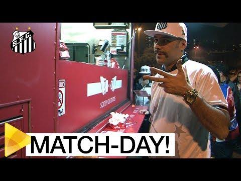 O match-day do Peixe no Pacaembu