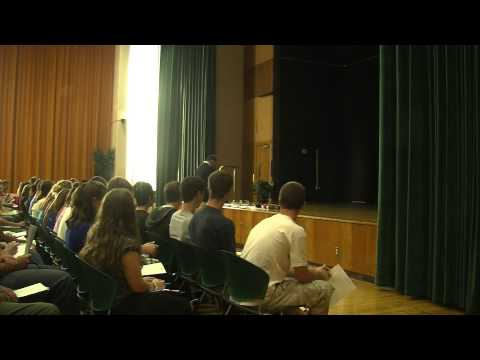Fortune Footwear CEO Talks to Students at The College at Brockport (Part 1 of 5)