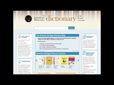 The American Heritage Dictionary 2015