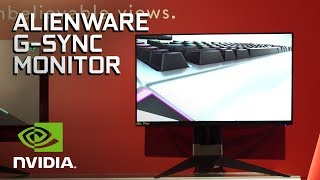The Alienware AW2518H NVIDIA G-SYNC Monitor