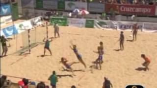 Beach Handball - Goles Espectaculares
