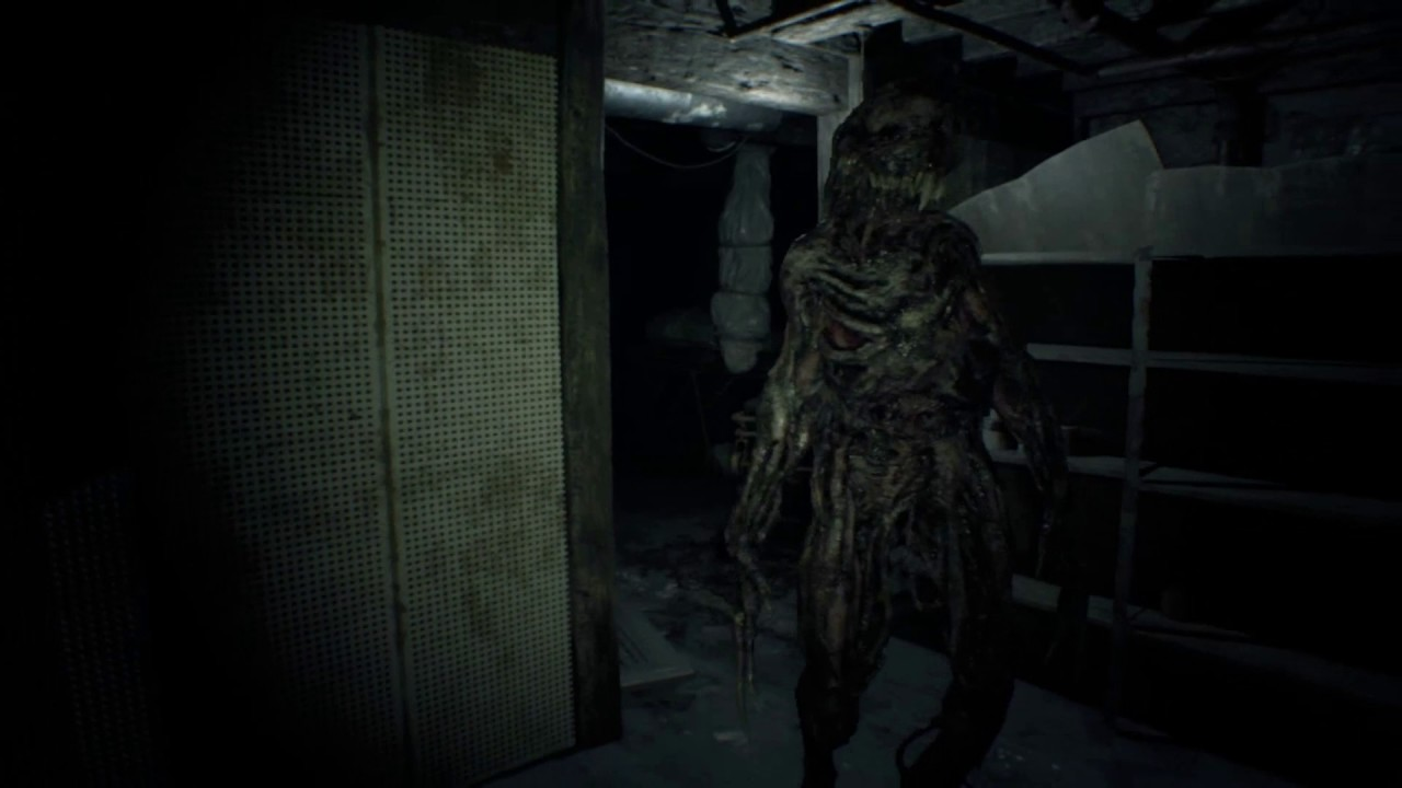 Resident Evil 7 Demo How To Escape The Basement Monster Without