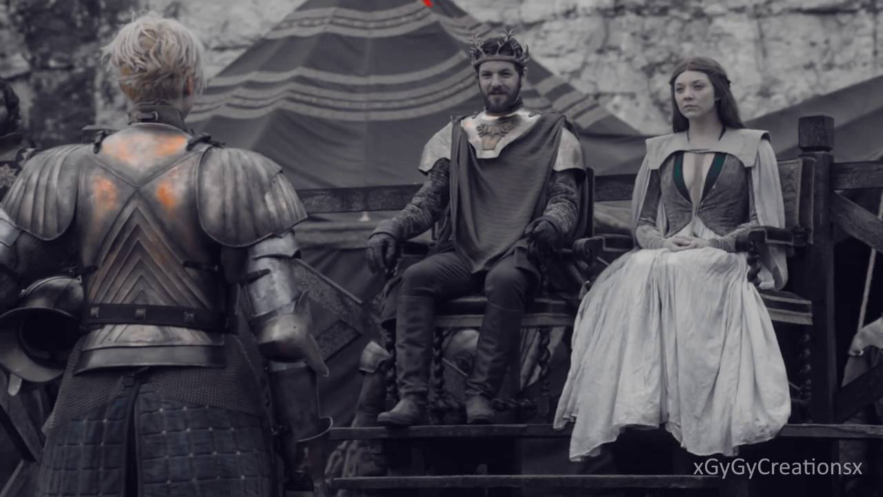 Renly baratheon and loras tyrell gif