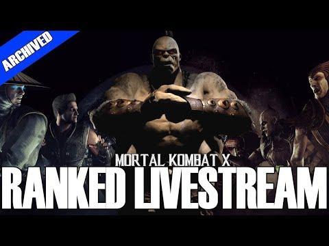 MORTAL KOMBAT X | ThePetulantPanda | Ranked Livestream | FT 5 w/ Harperlarp + Jax Ragdoll Brutality thumbnail
